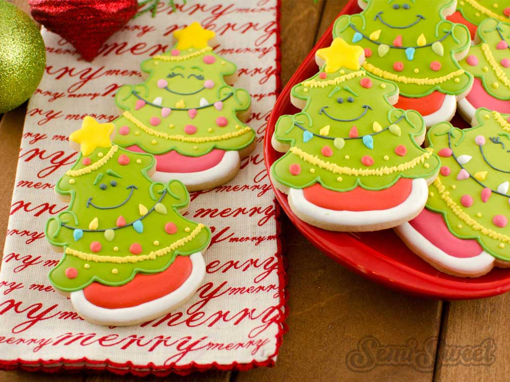 How to Make Christmas Tree Cookies