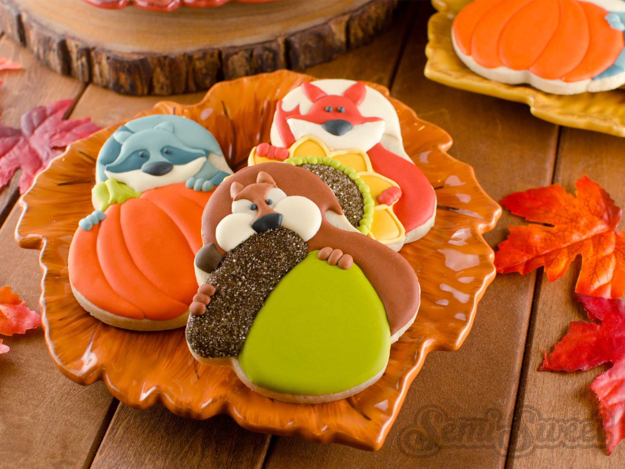 How to Add Bushy-Tailed Animals to Any Cookie