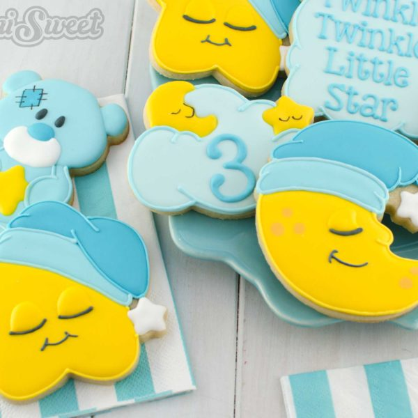 How to Make Sleeping Star Cookies