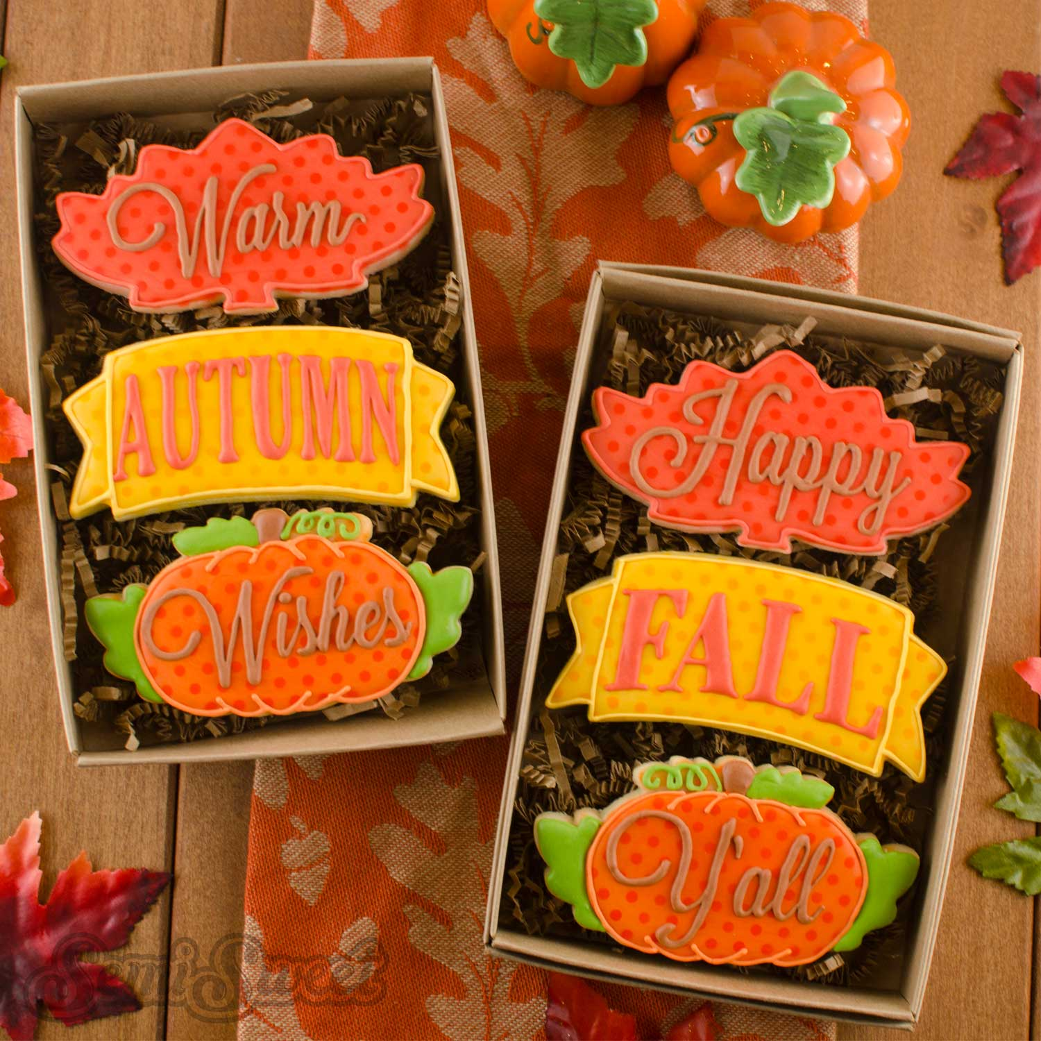 Fall Cookie Cutter Set and a Font Tip