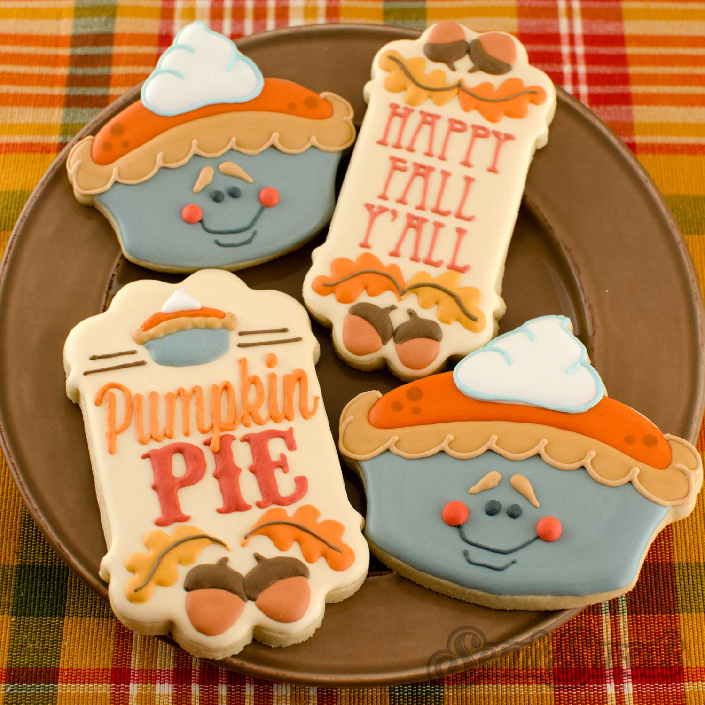 How to Make Whole Pumpkin Pie Cookies
