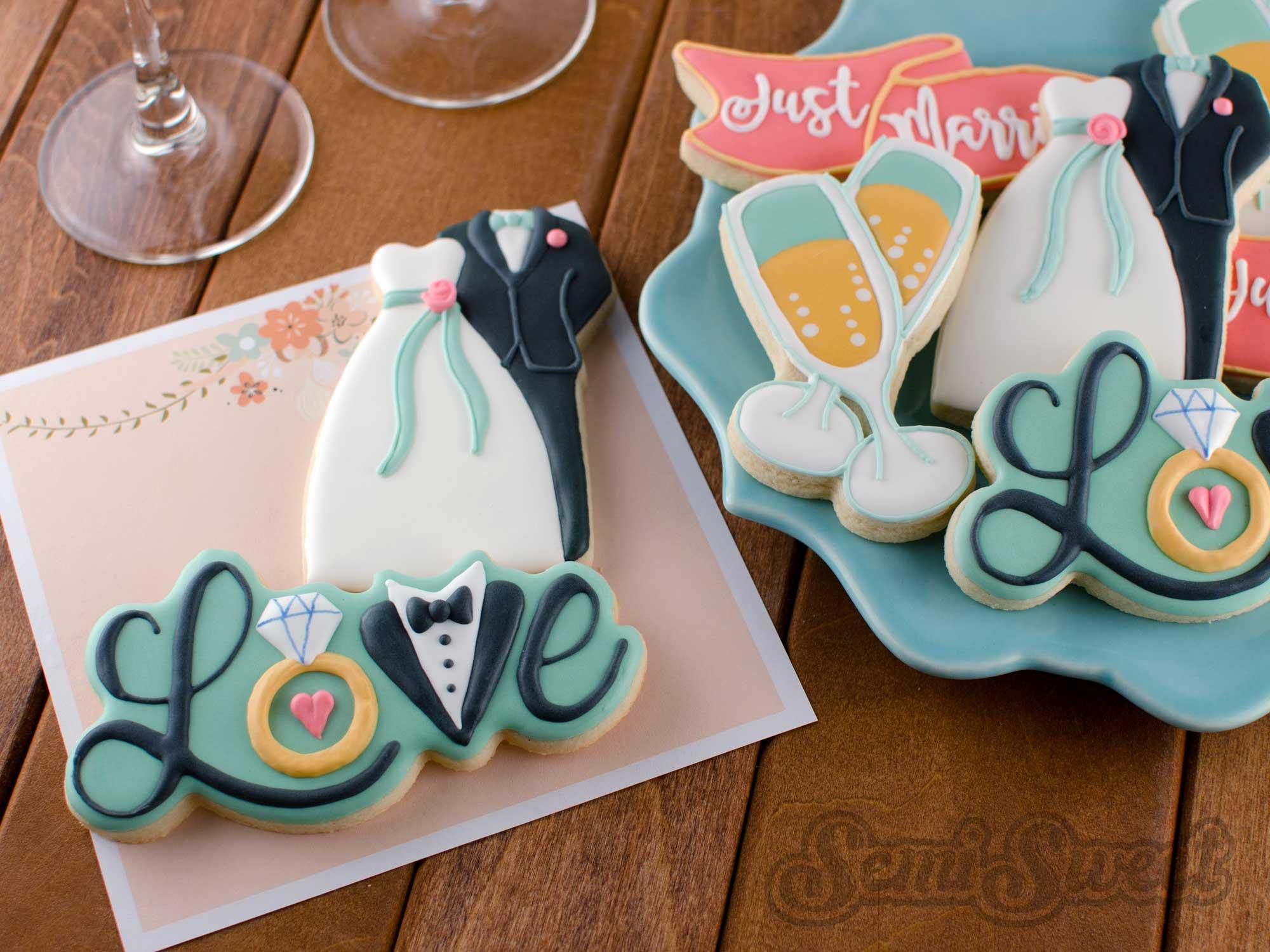 How to Make Wedding Love Cookies