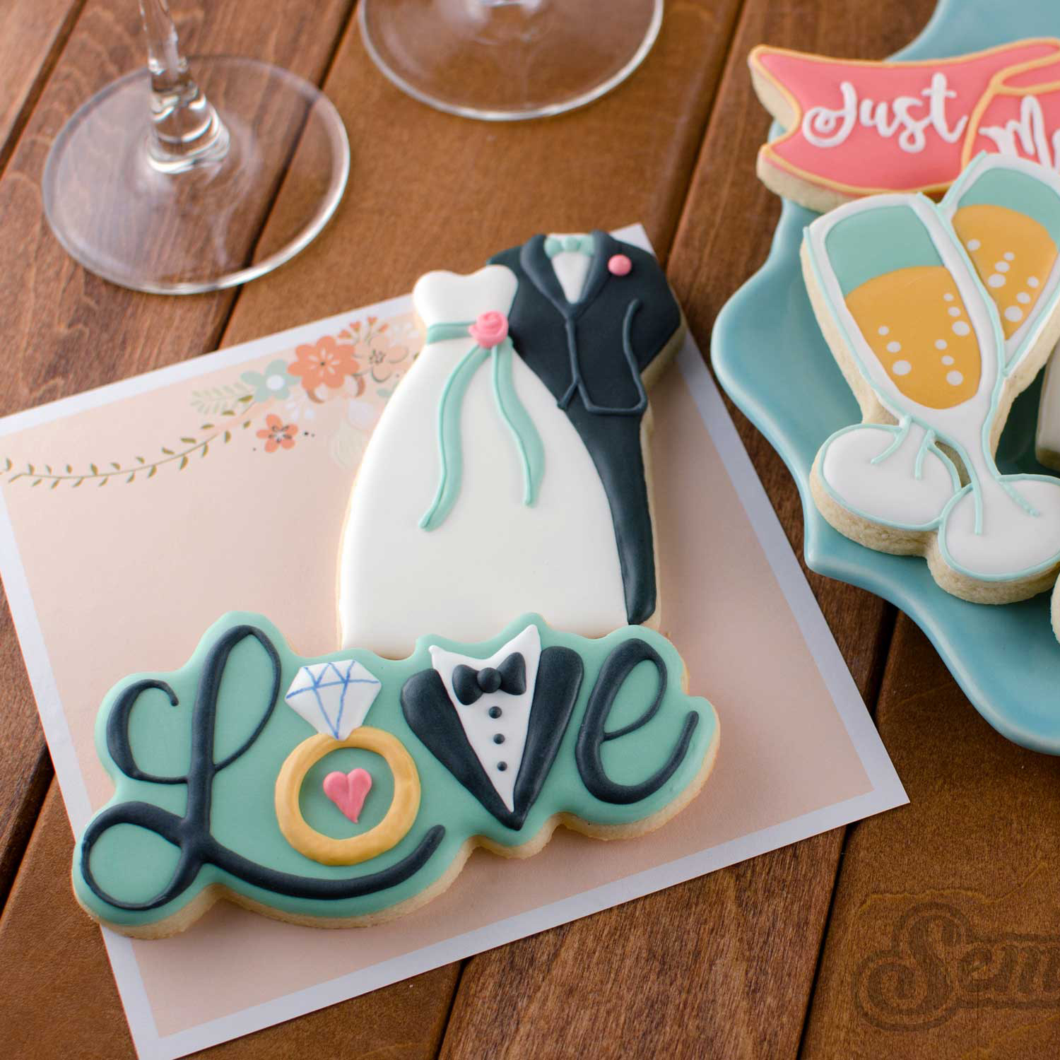 How to Make Wedding Love Cookies