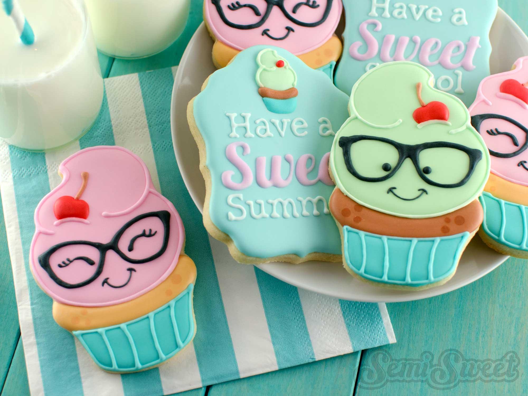 How To Make Nerdy Cupcake Cookies