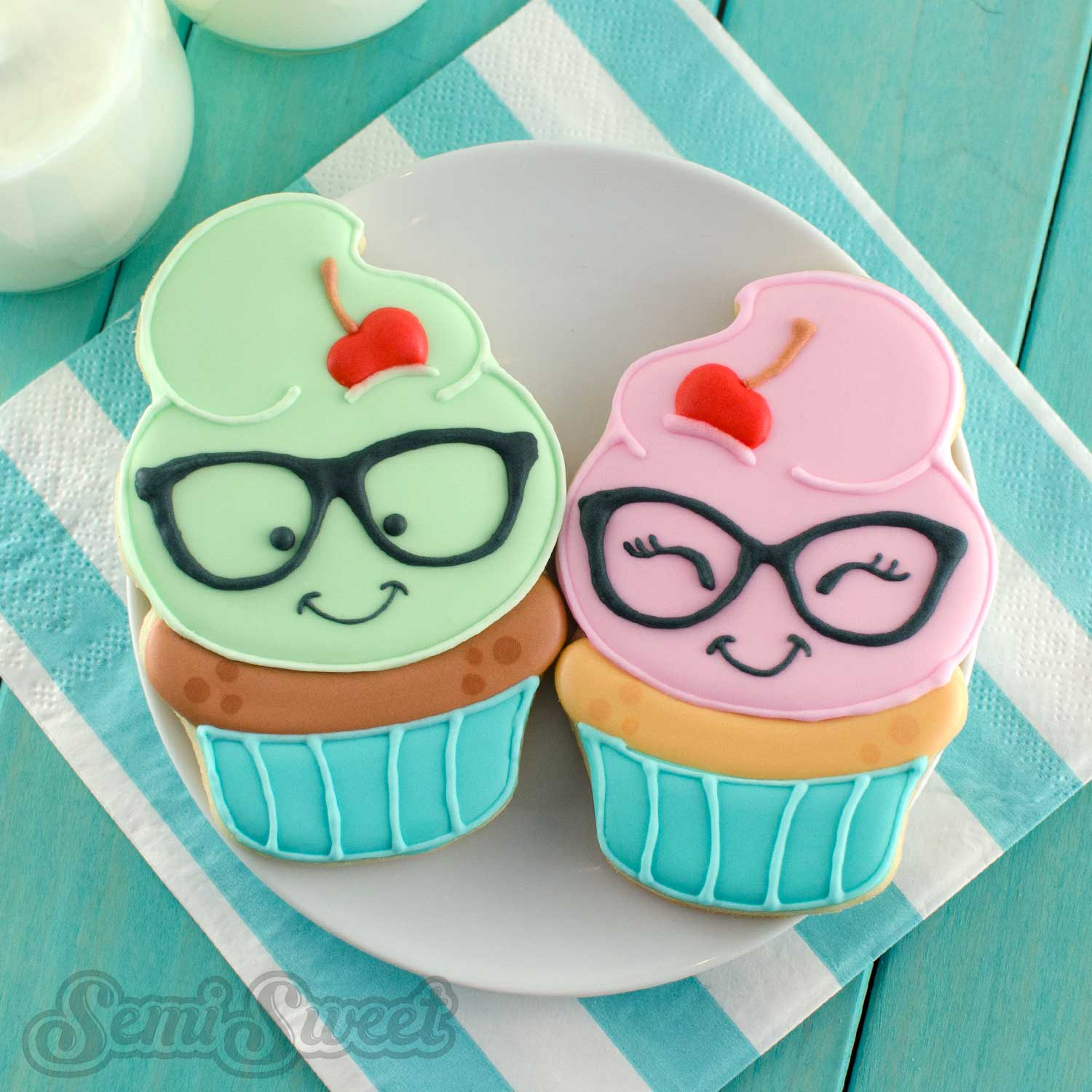How to Make Nerdy Cupcake Cookies