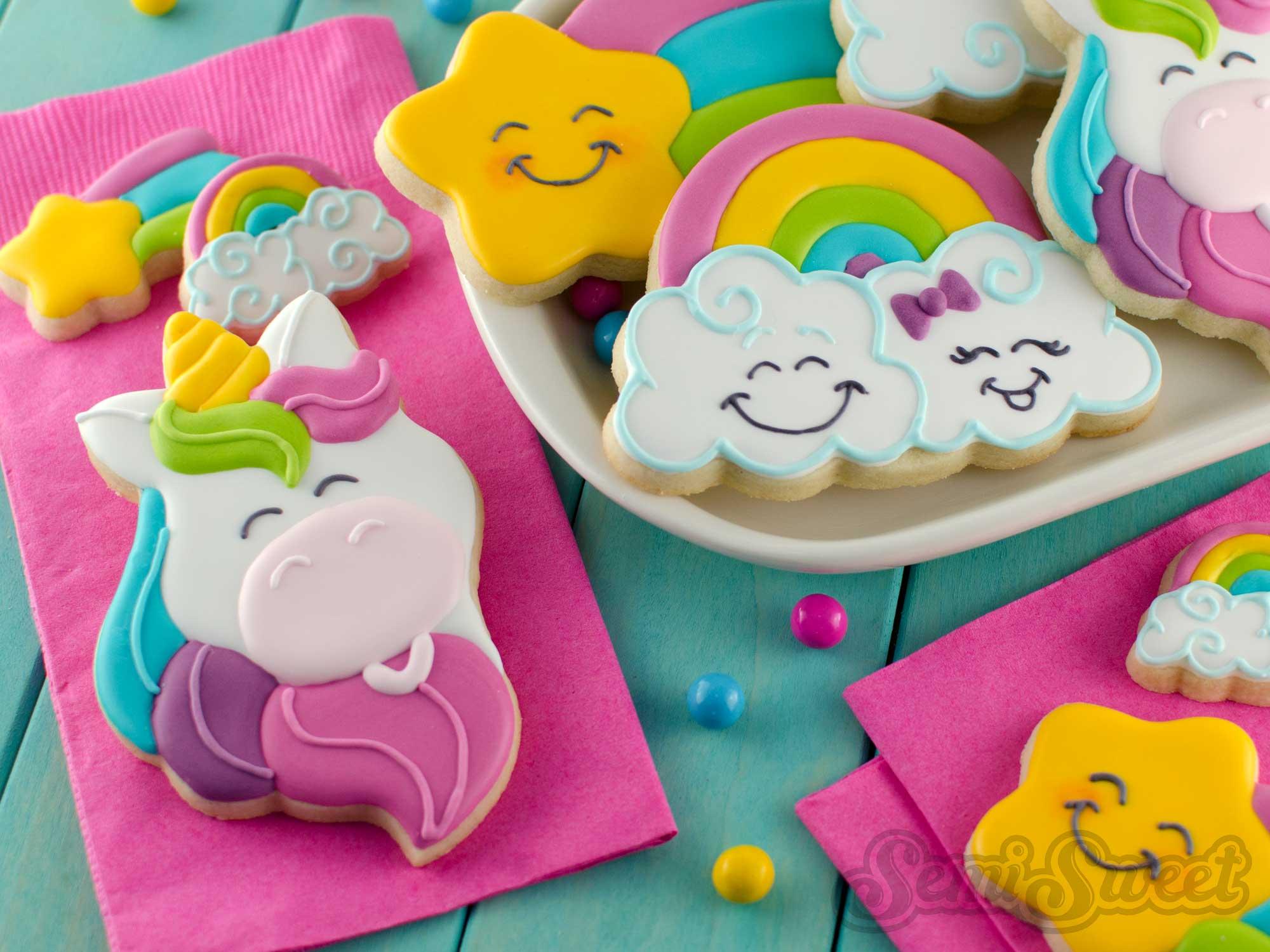 How to Make Unicorn Head Cookies