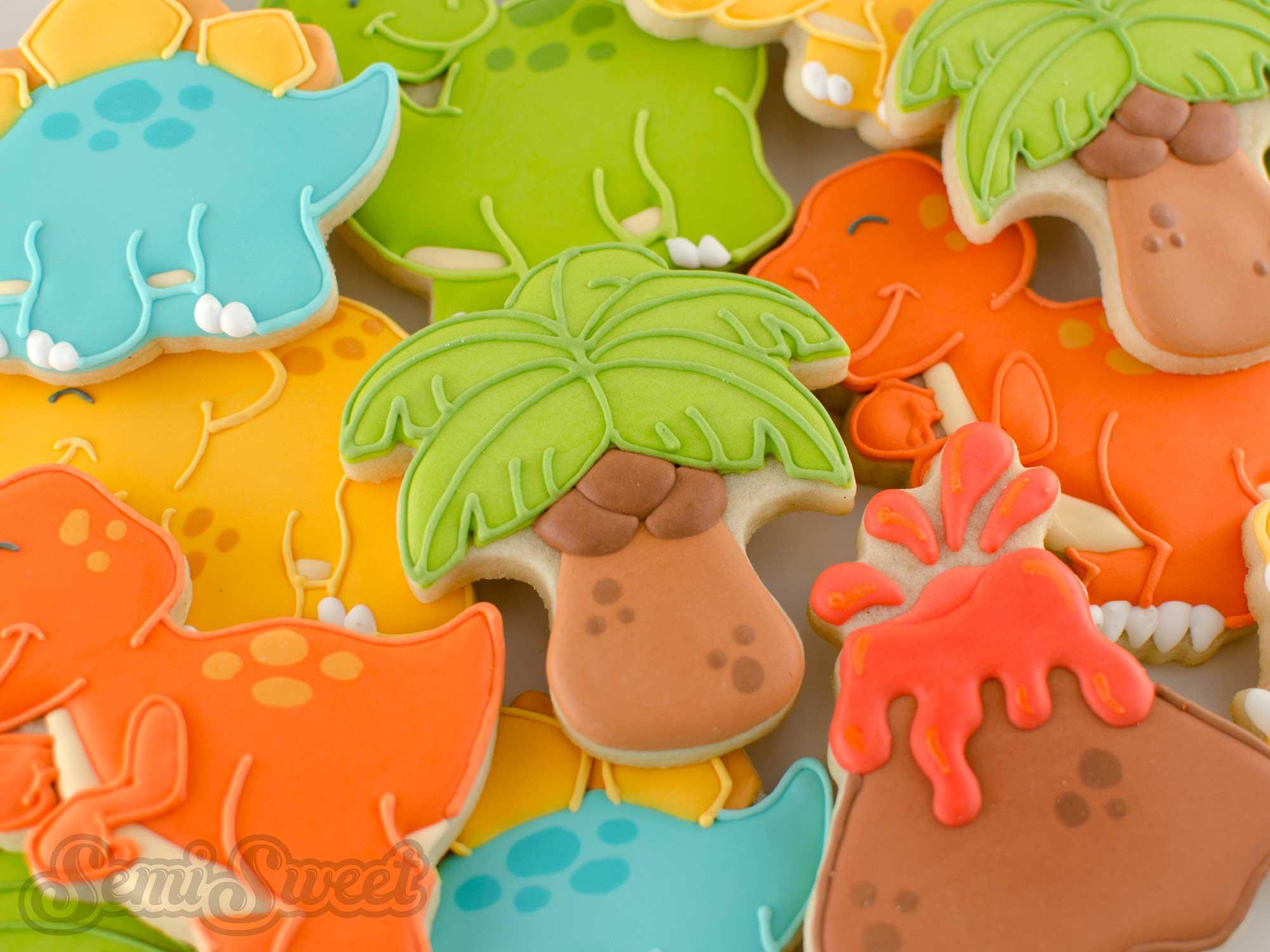 How to Make Sturdy Palm Tree Cookies