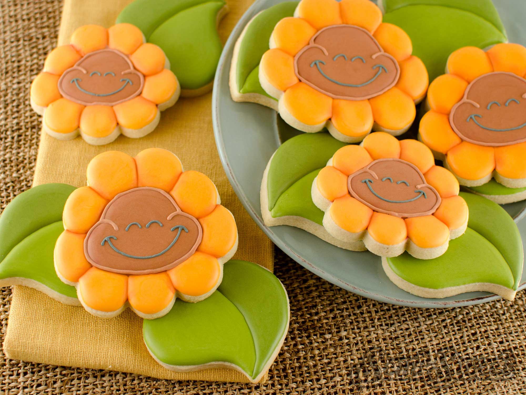 How to Make Cheeky Sunflower Cookies