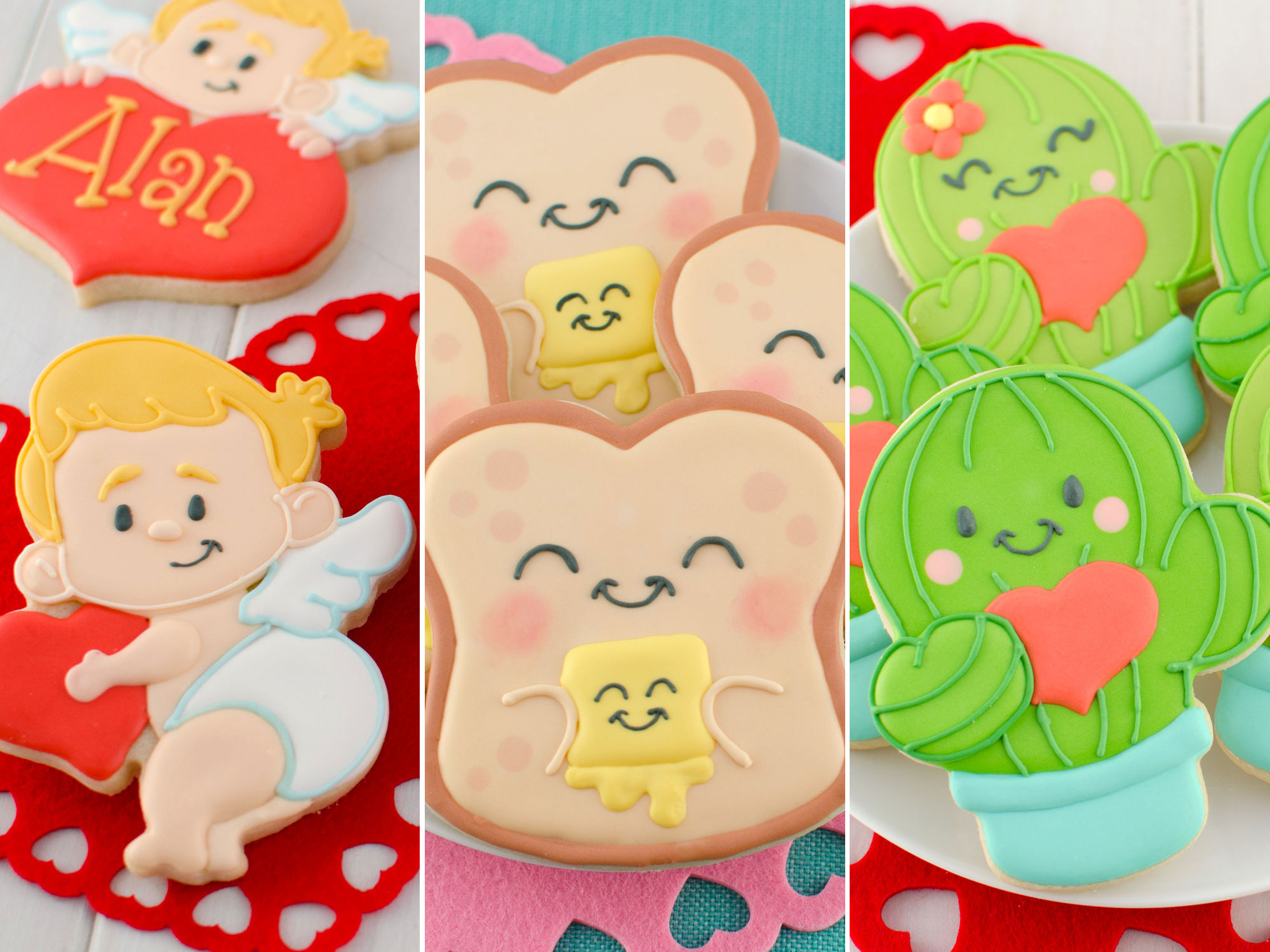 New Valentine's Day Cookie Cutters and Designs