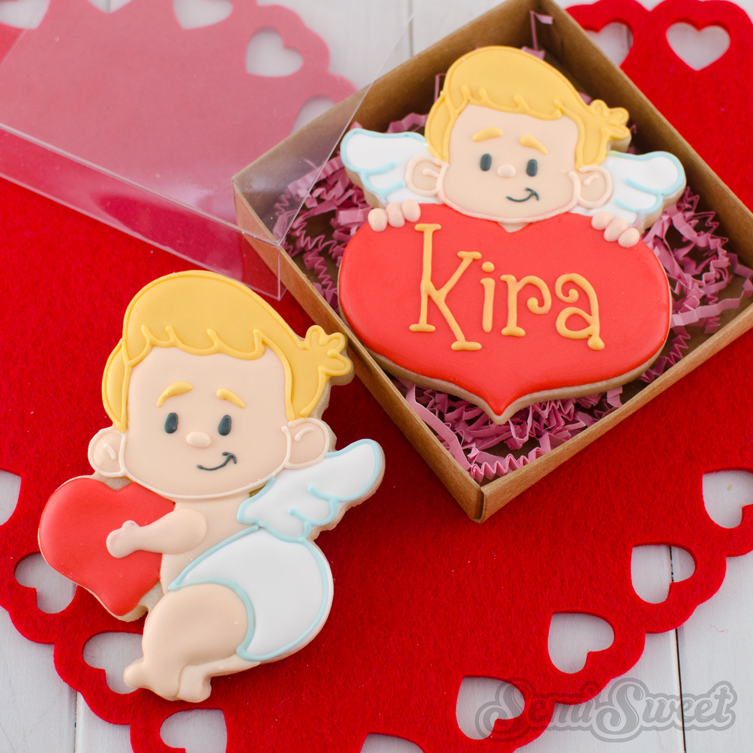 How to Make Cupid Cookies
