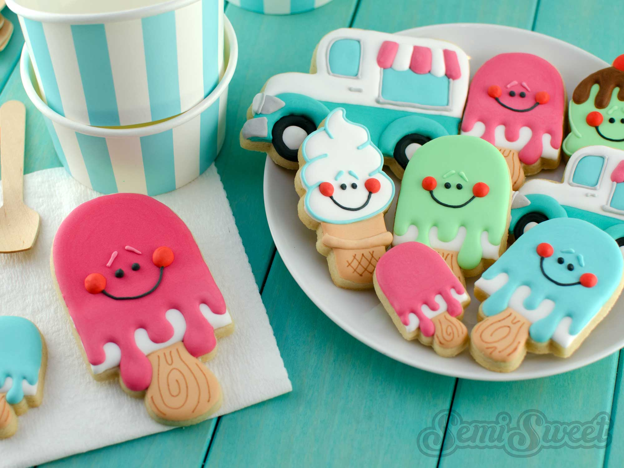 How to Make Popsicle Cookies