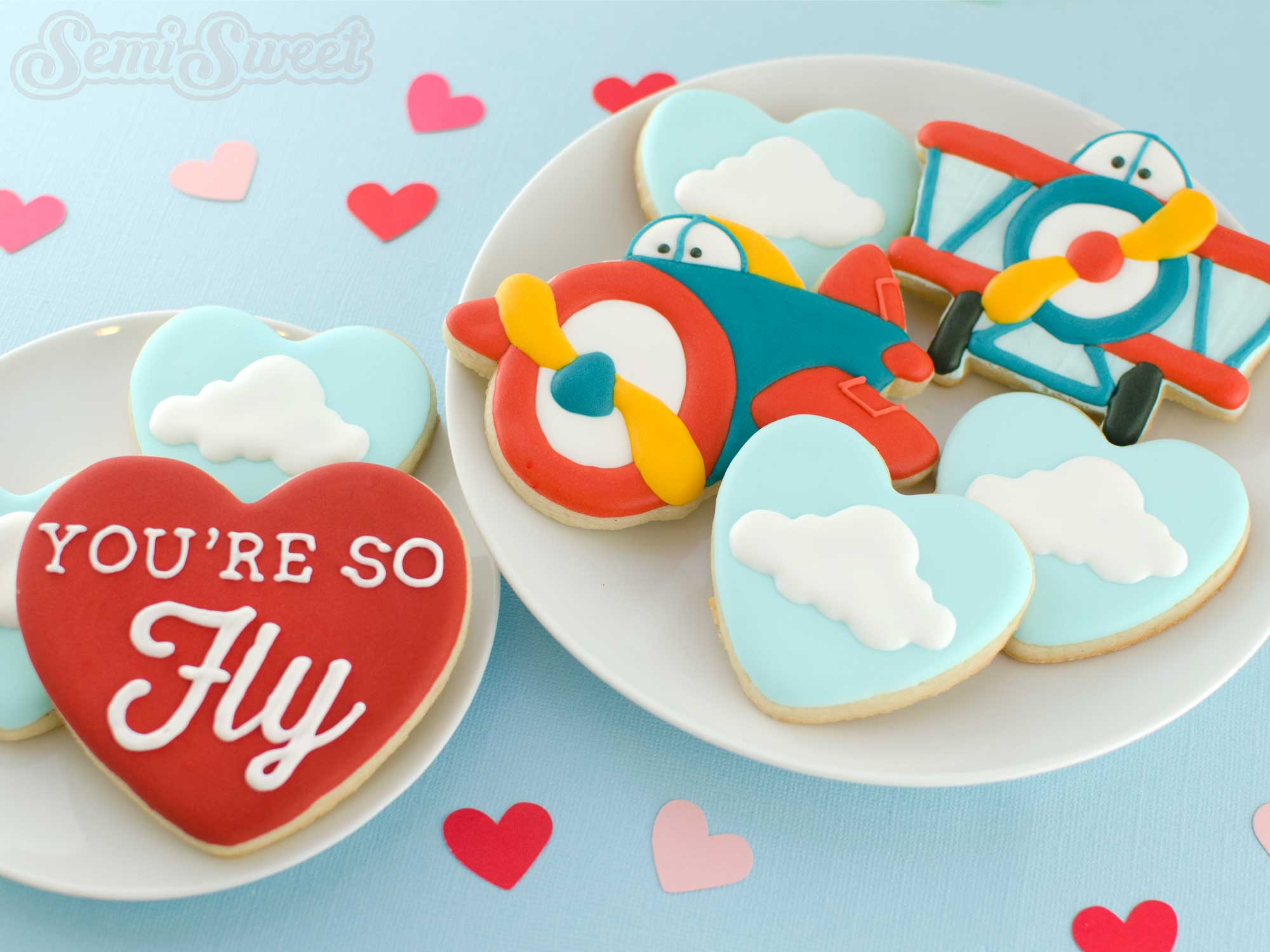 How to Make Cute Airplane Cookies