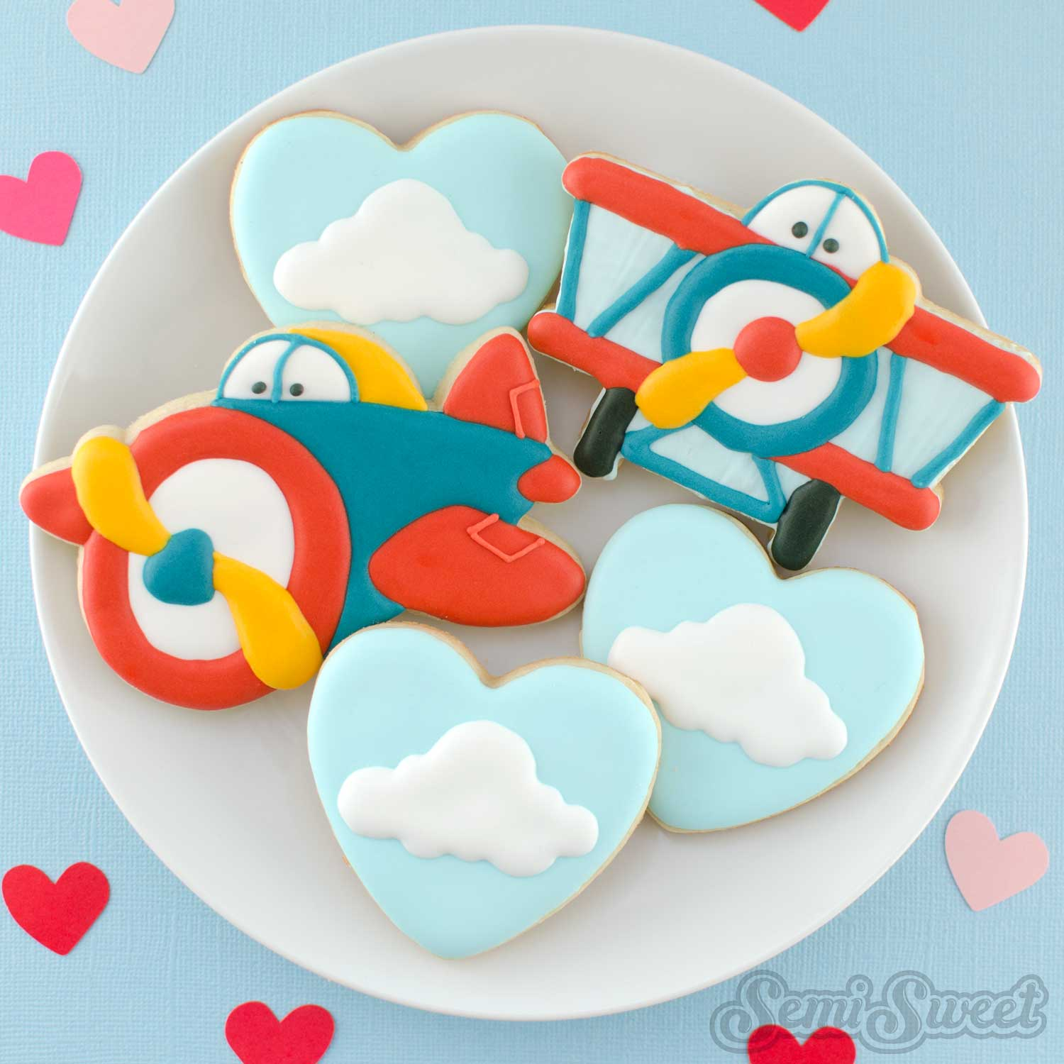 How to Make Cute Airplane Cookies