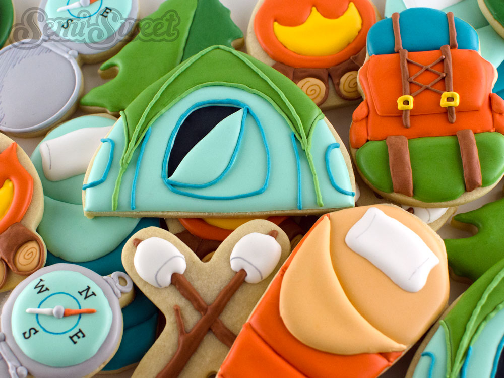 Cookie Cutters for Camping Cookies