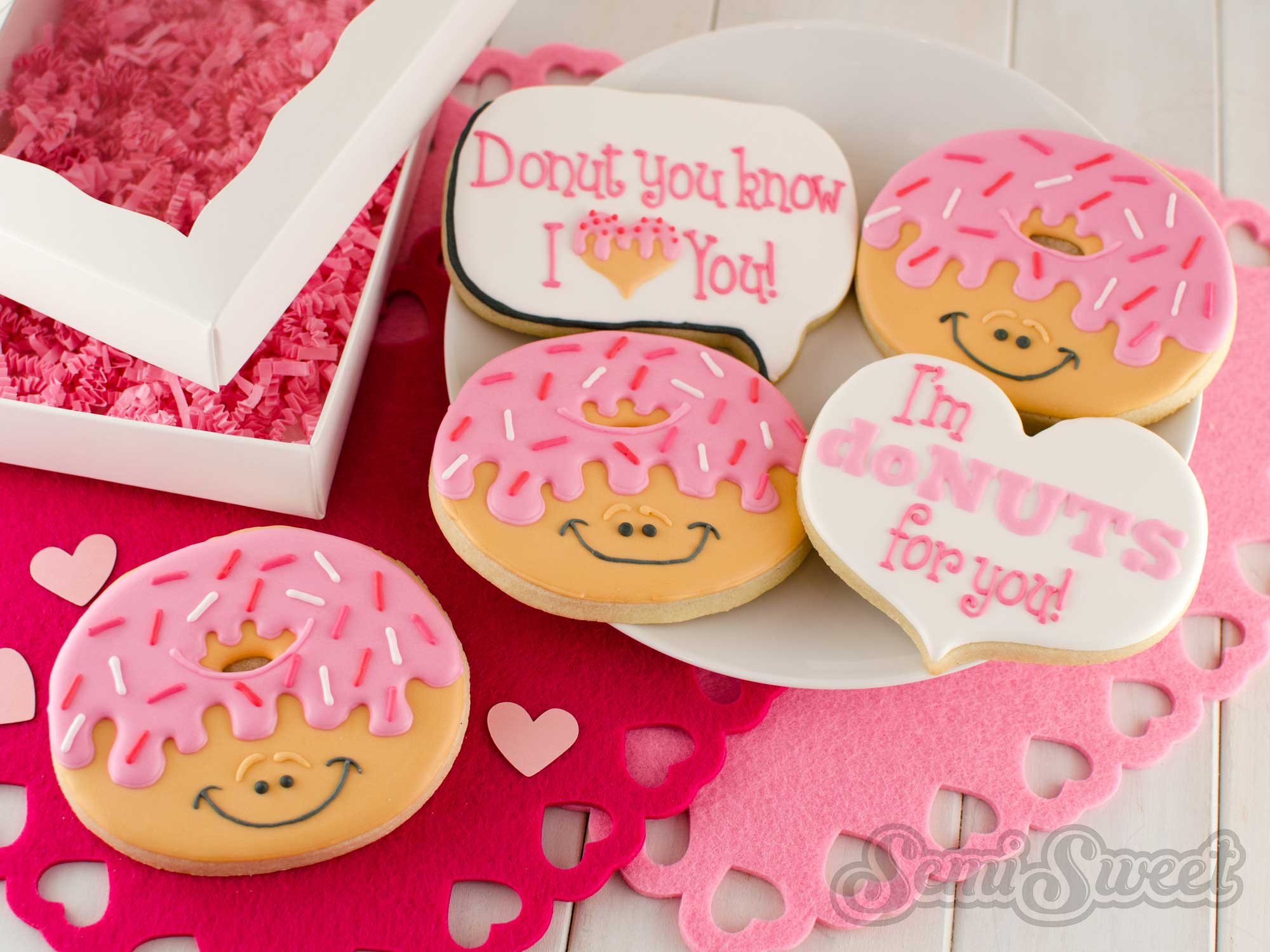 How to Make Decorated Donut Cookies
