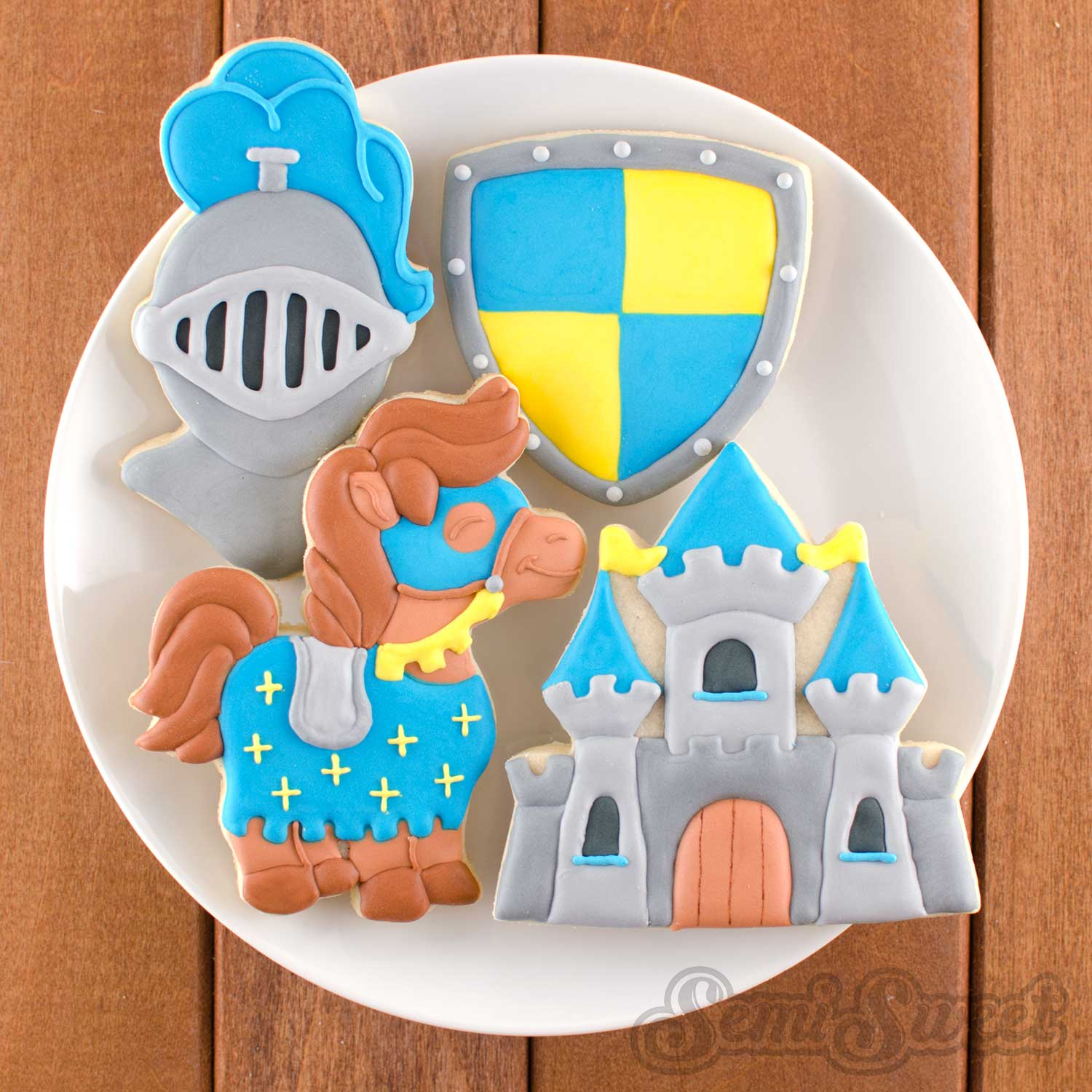 How to Make Fairytale Castle Cookies