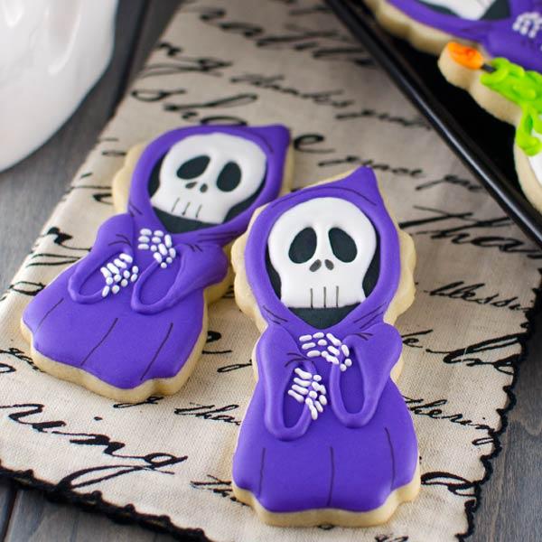 Halloween Grim Reaper Cookies
