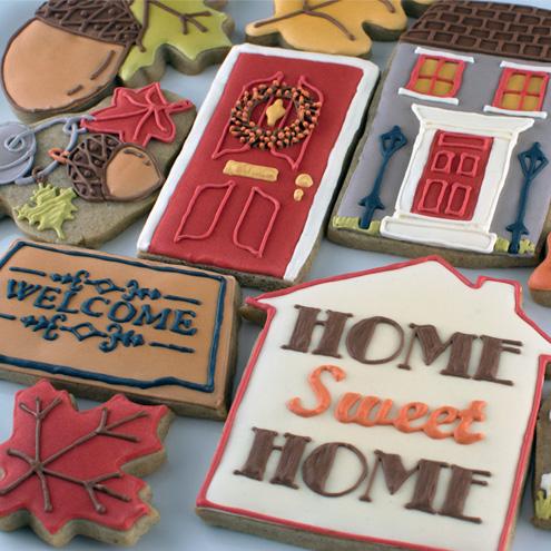 Fall Housewarming Cookies