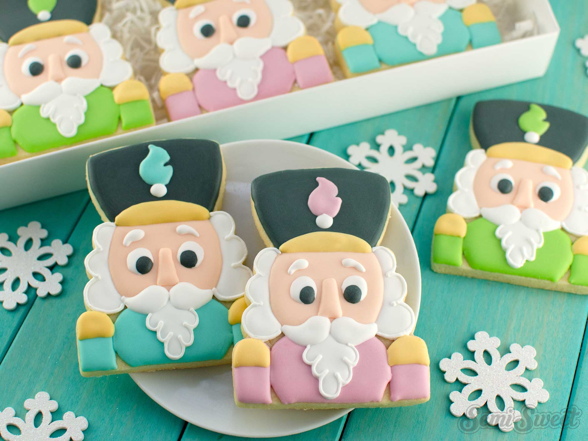 How to Make Nutcracker Cookies