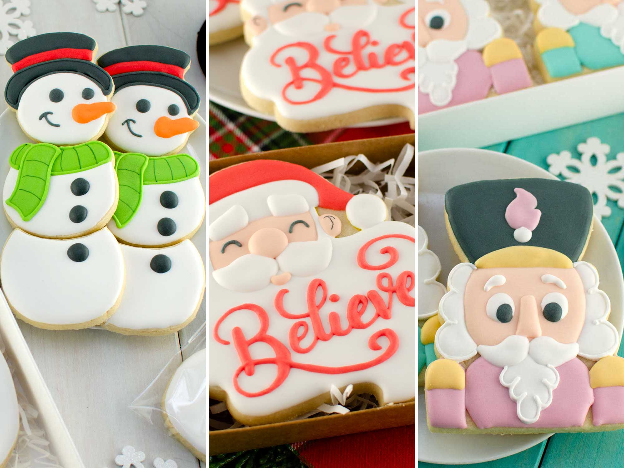 2019 Christmas Cookie Cutters and Designs