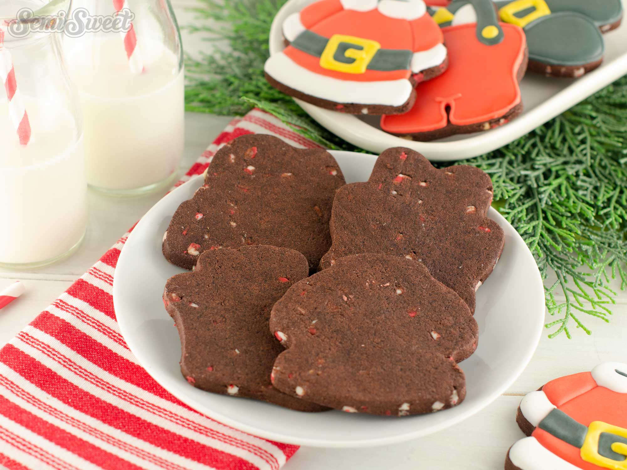 Peppermint Mocha Cut-Out Cookie Recipe