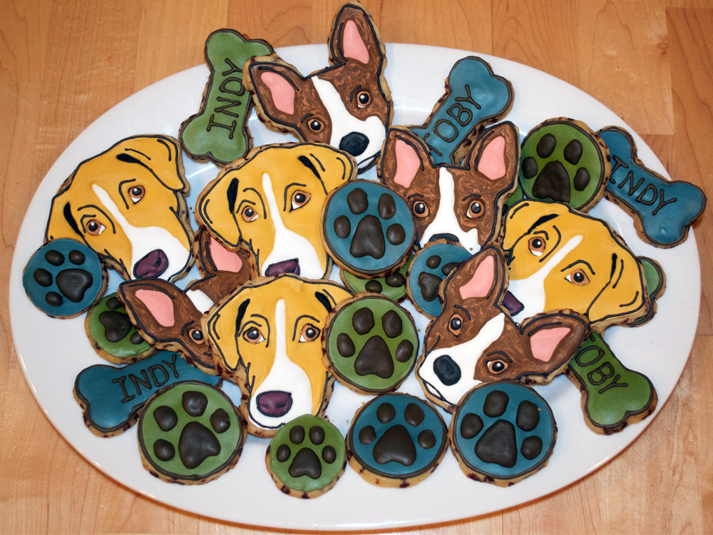 Dog Chocolate Chip Cookies