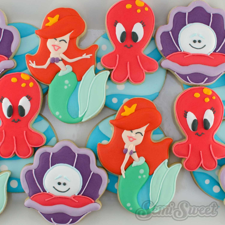 How to Make Mermaid Cookies
