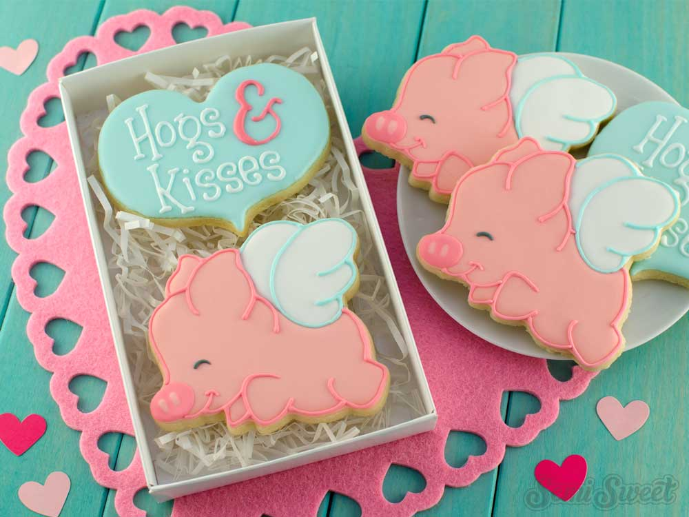 How to Make Flying Pig Cookies