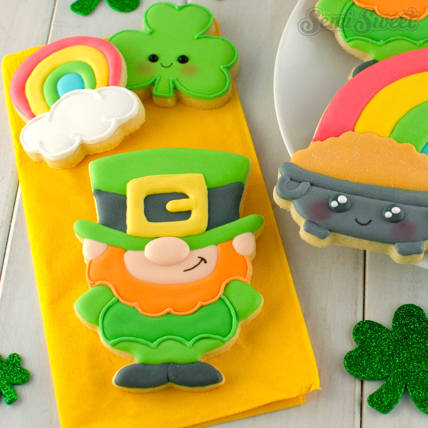 How to Make Leprechaun Cookies