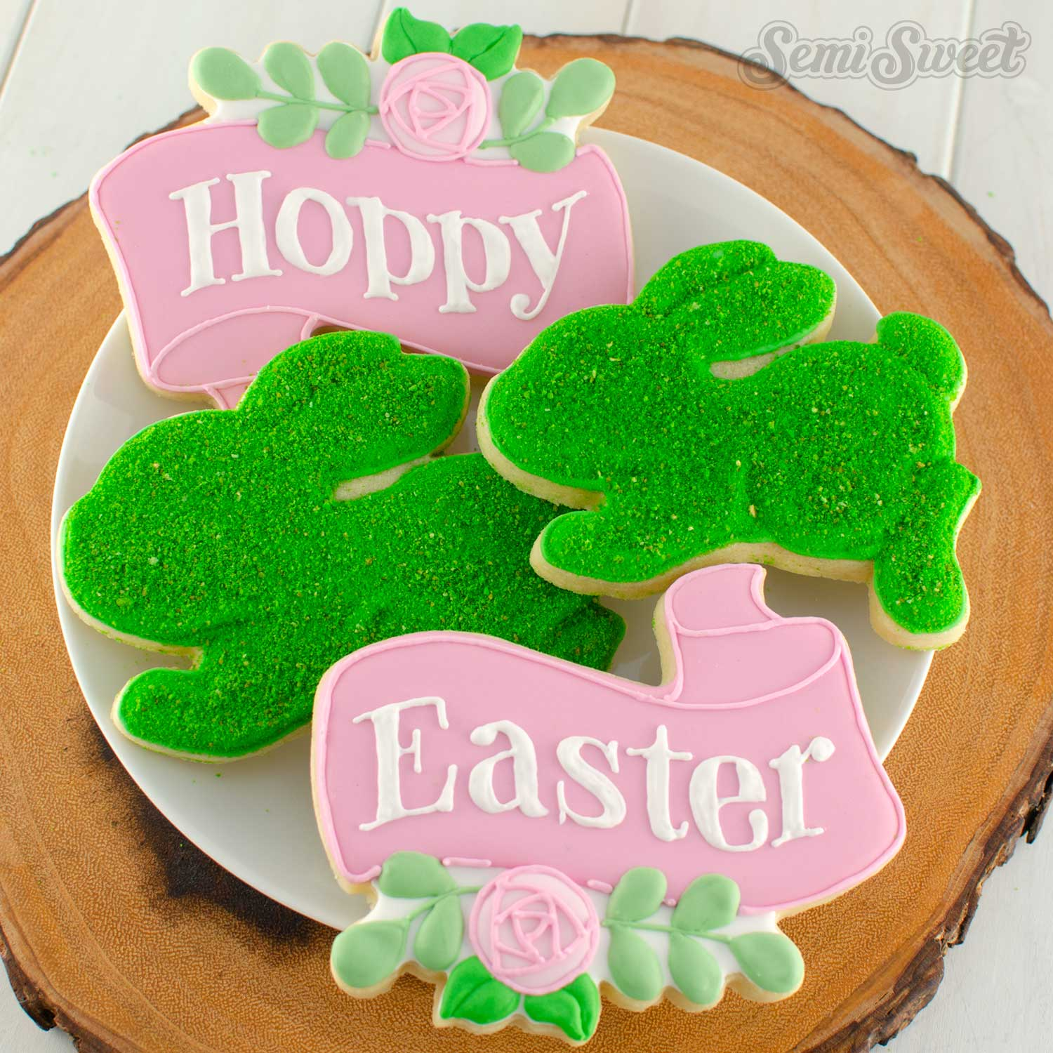 How to Make Moss Bunny Cookies