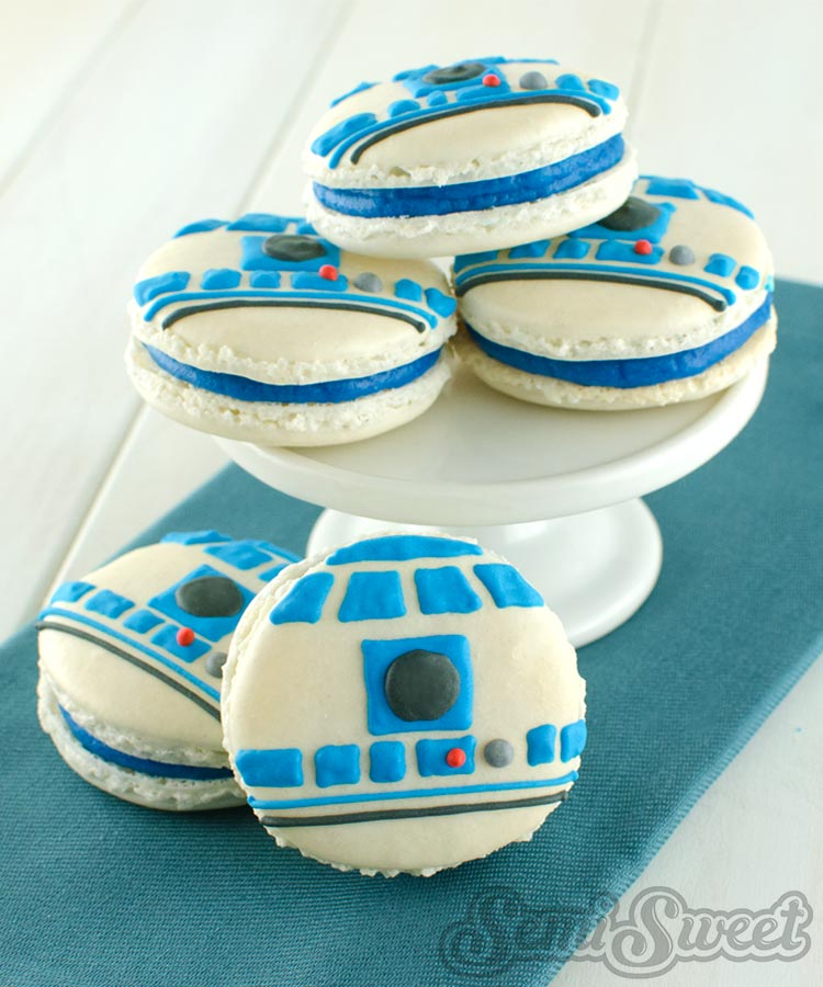 Star Wars Macarons R2D2