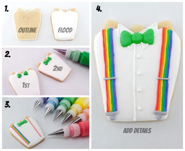 suspenders irish shirt icing instructions