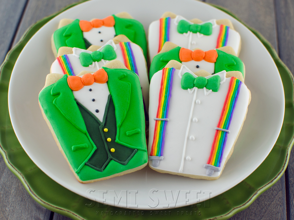 St. Paddy's Day Shirt Cookies