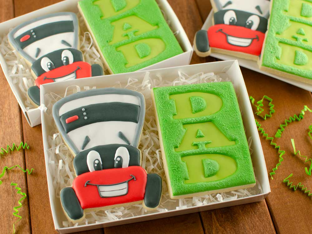 How to Make Father's Day Lawn Mower Cookies