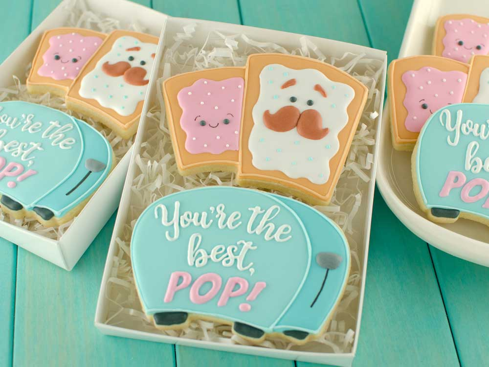 How to Make Father's Day Pop Tart Cookies