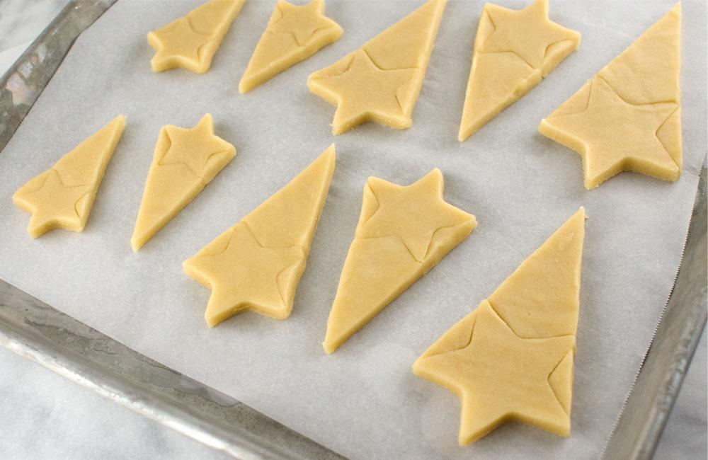 starburst cookies baking