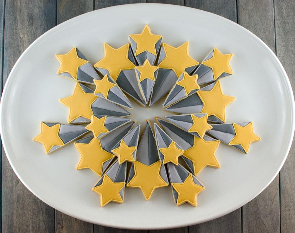 starburst cookie platter step 3