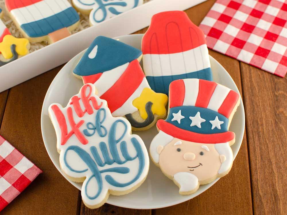 How to Make Uncle Sam Cookies