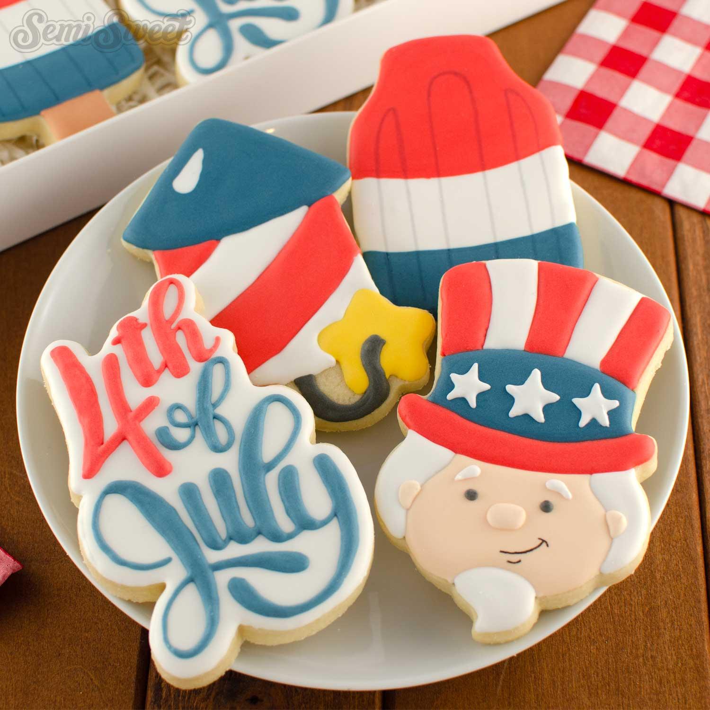 patriotic cookie set