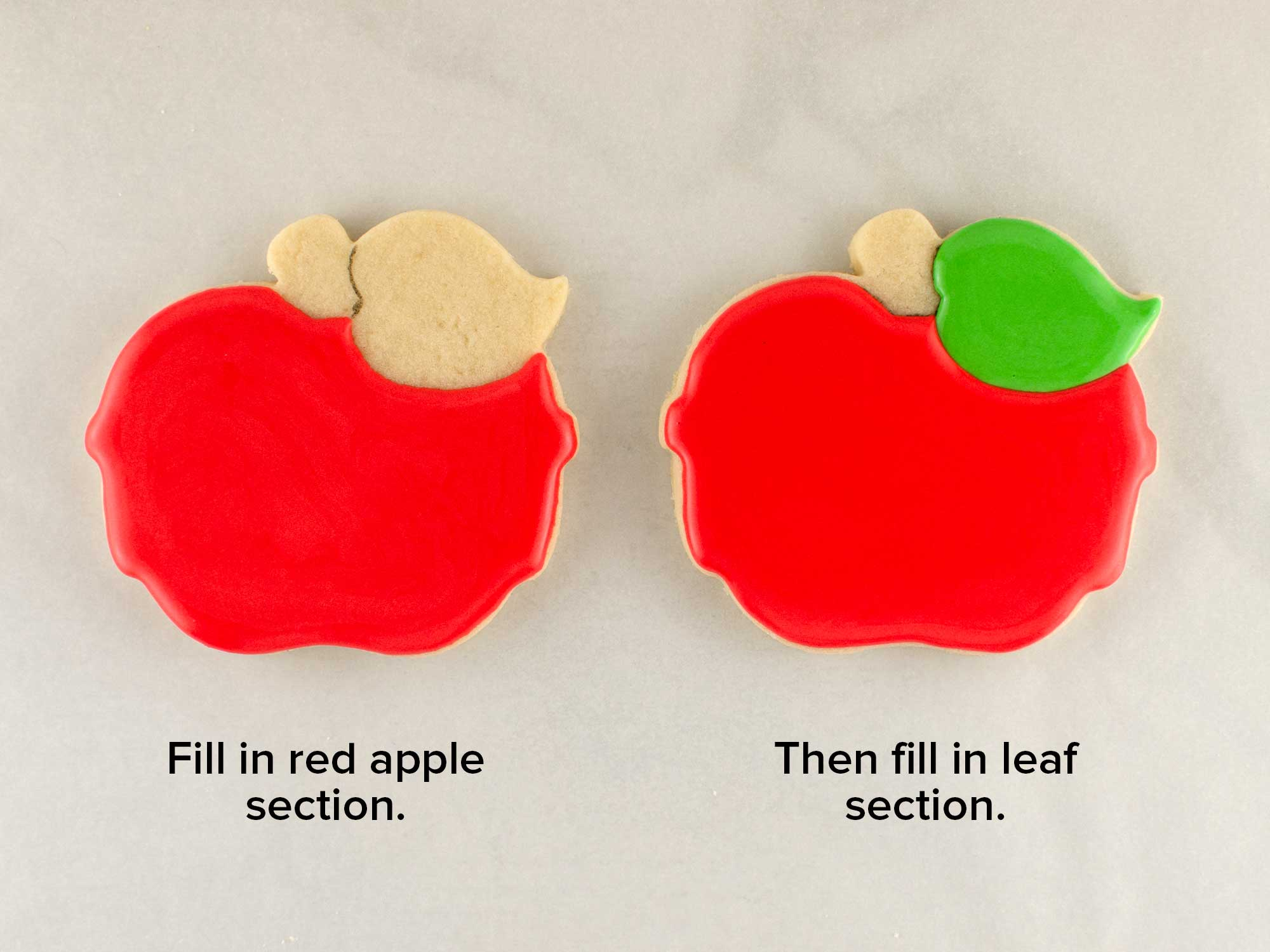 nerdy apple cookie step 1