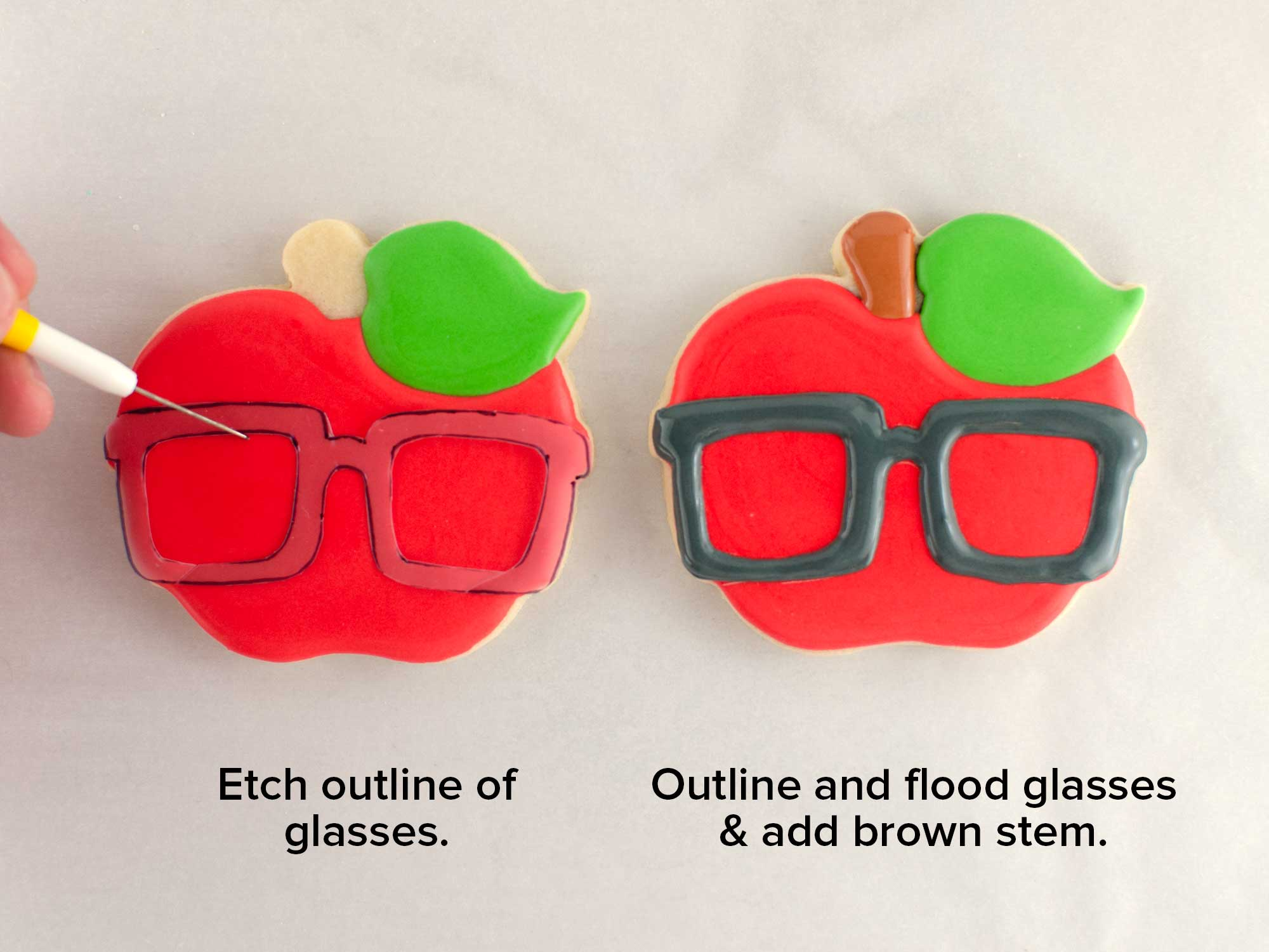 nerdy apple cookie step 2
