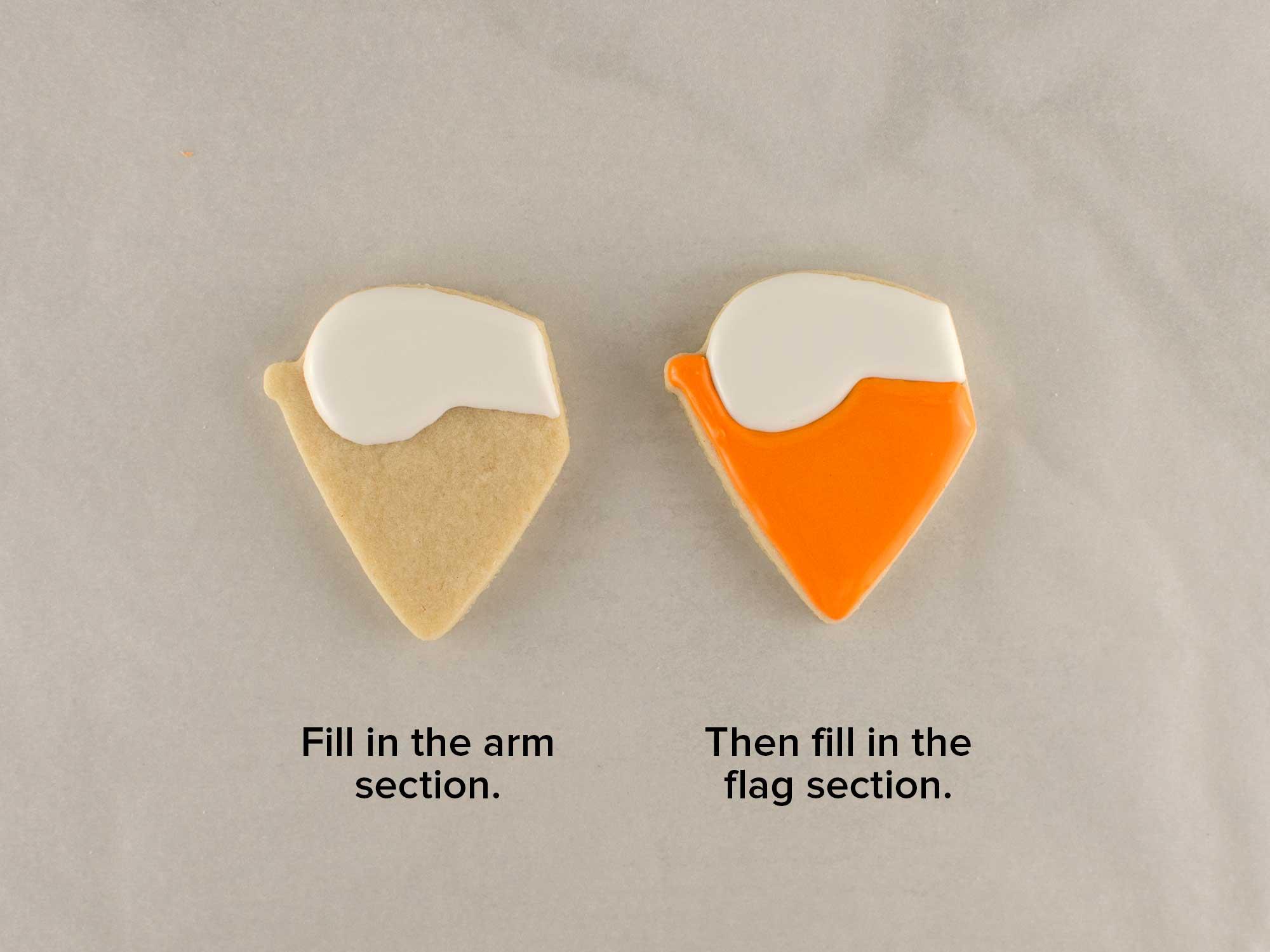banner ghost cookies step 4