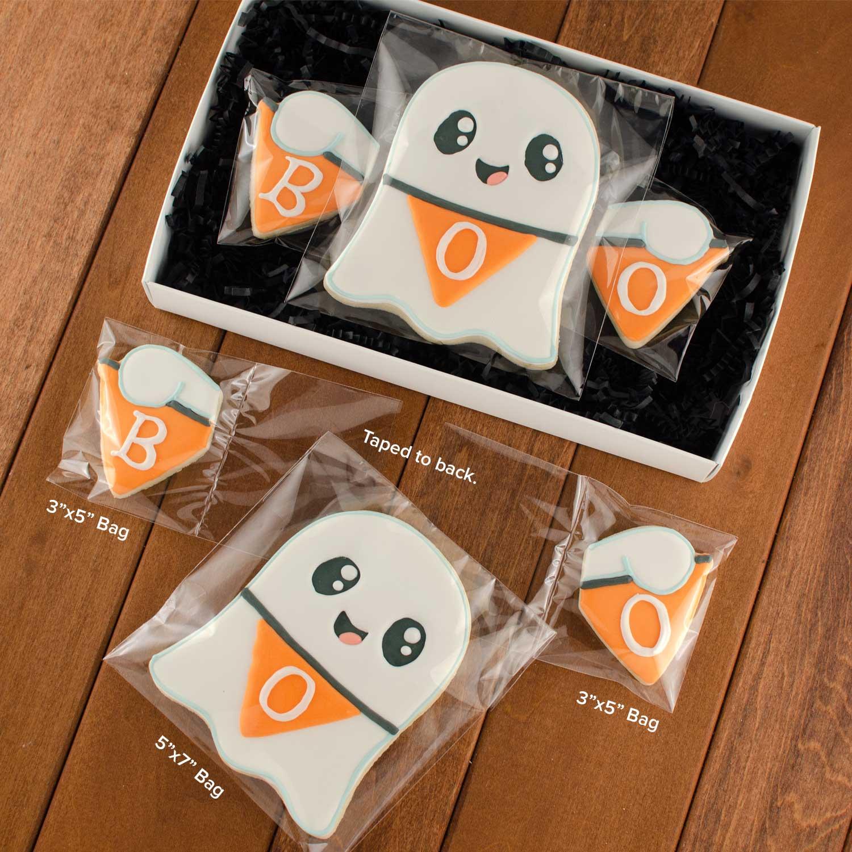 ghost cookie packaging | Semi Sweet Designs