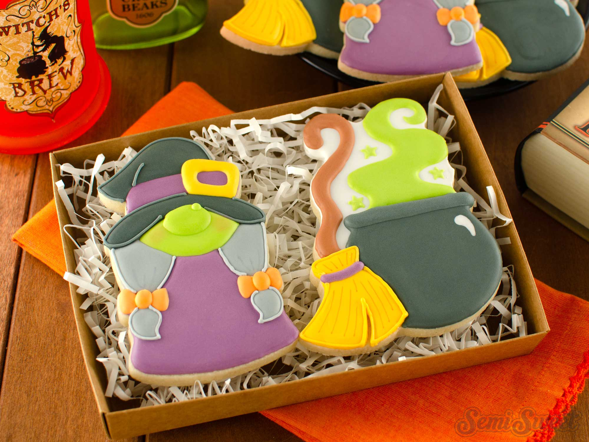 How to Make Gnome Witch Cookies
