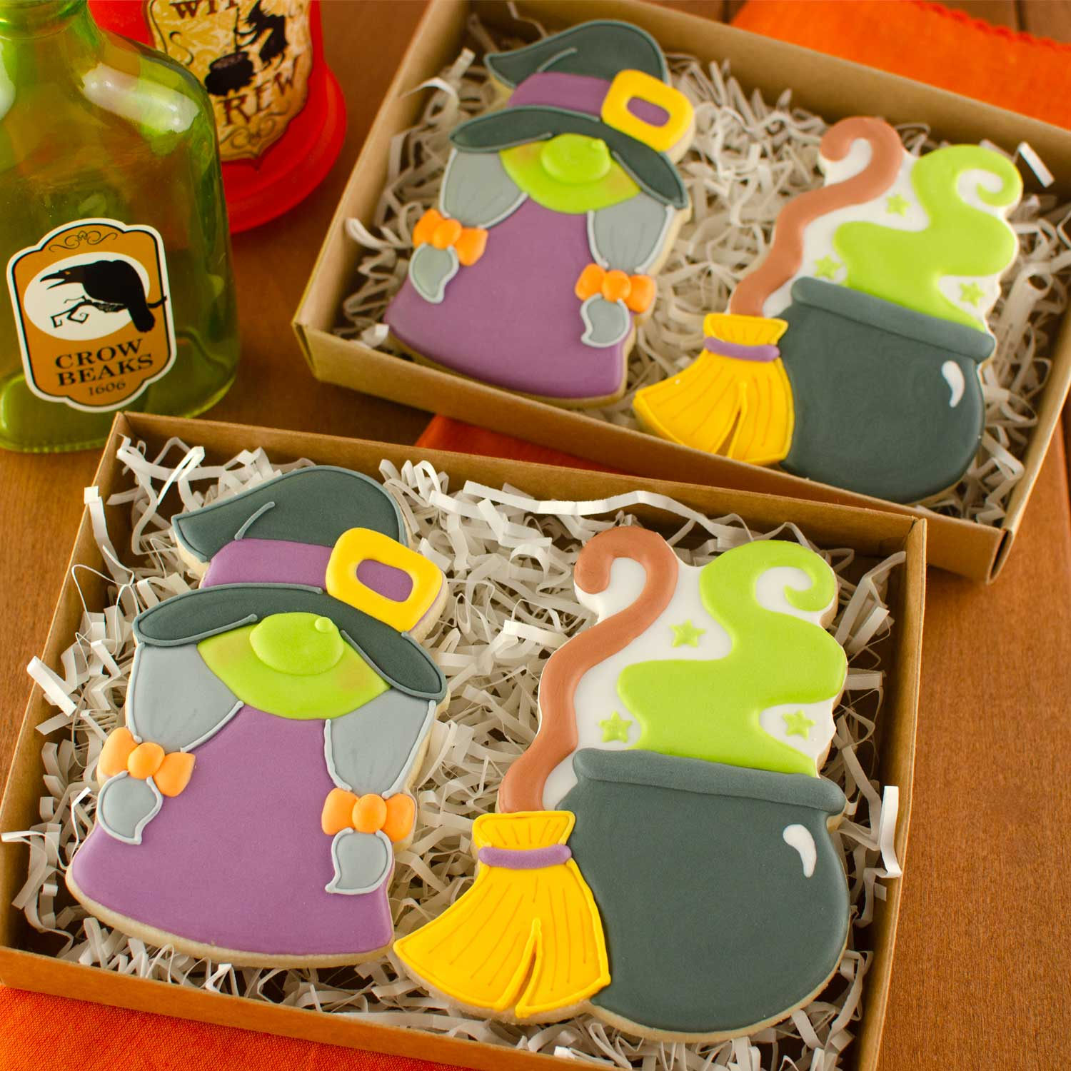 gnome witch cookie set | Semi Sweet Designs