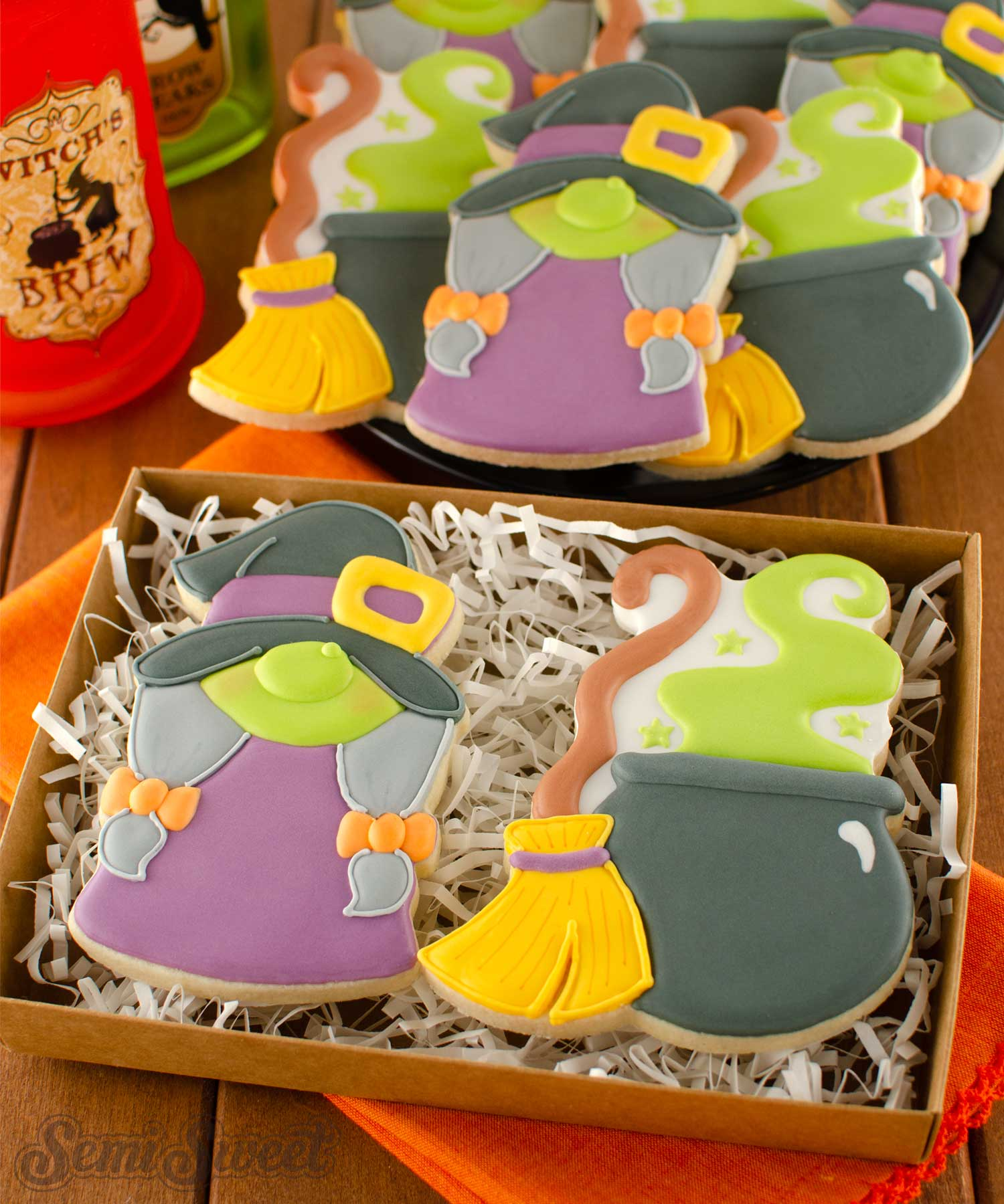 Gnome Witch Cookies | Semi Sweet Designs