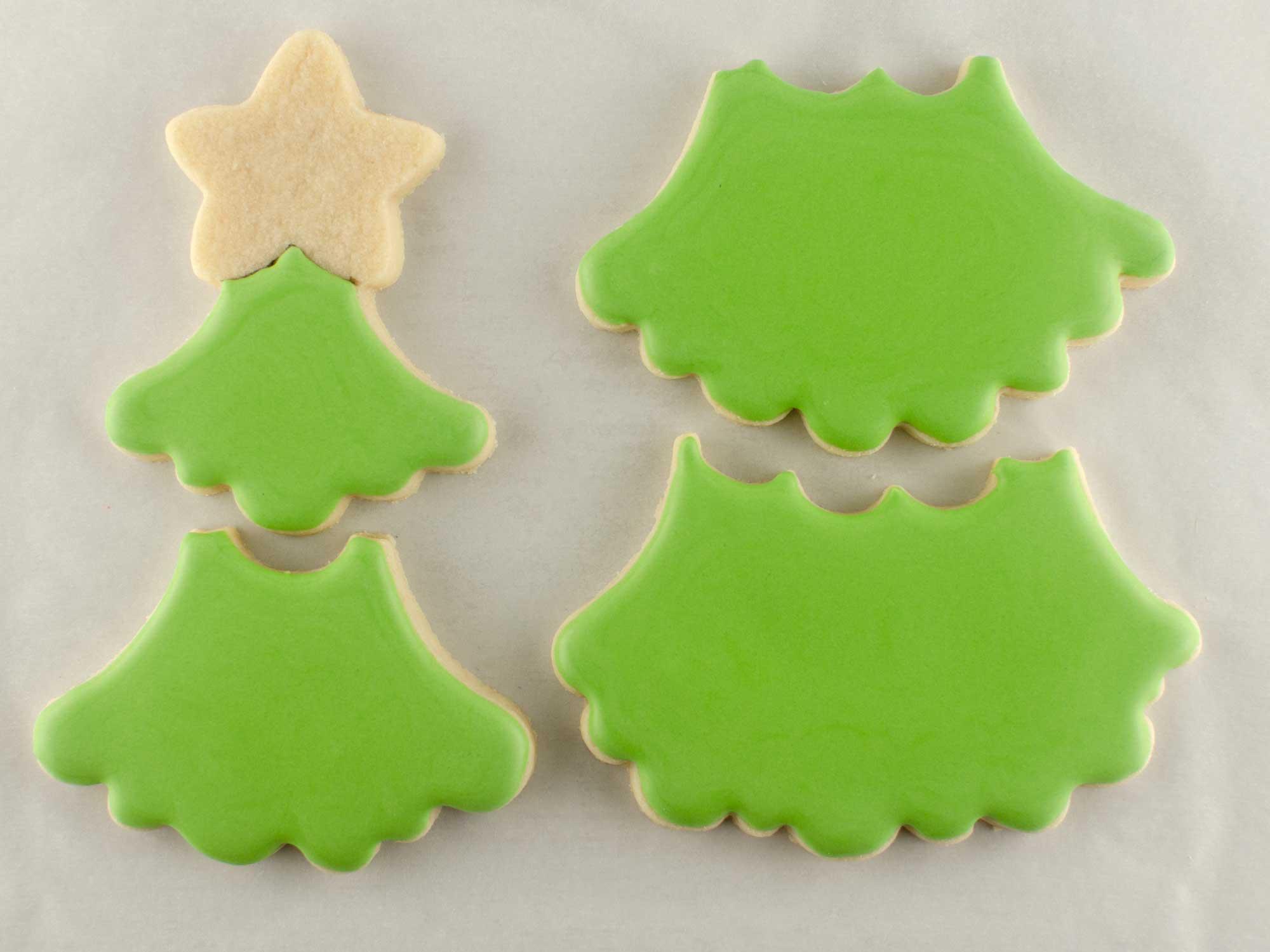 Christmas Tree Cookie Set step 1