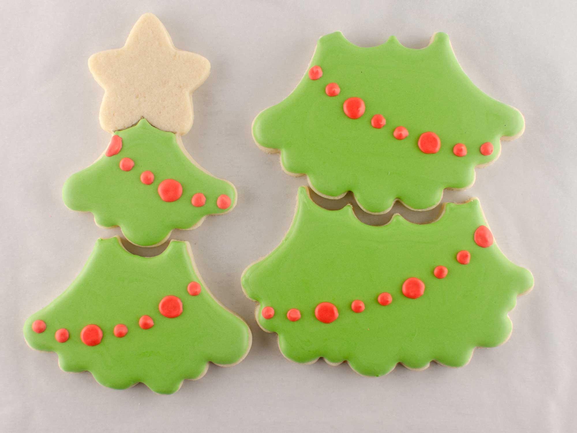 Christmas Tree Cookie Set step 2