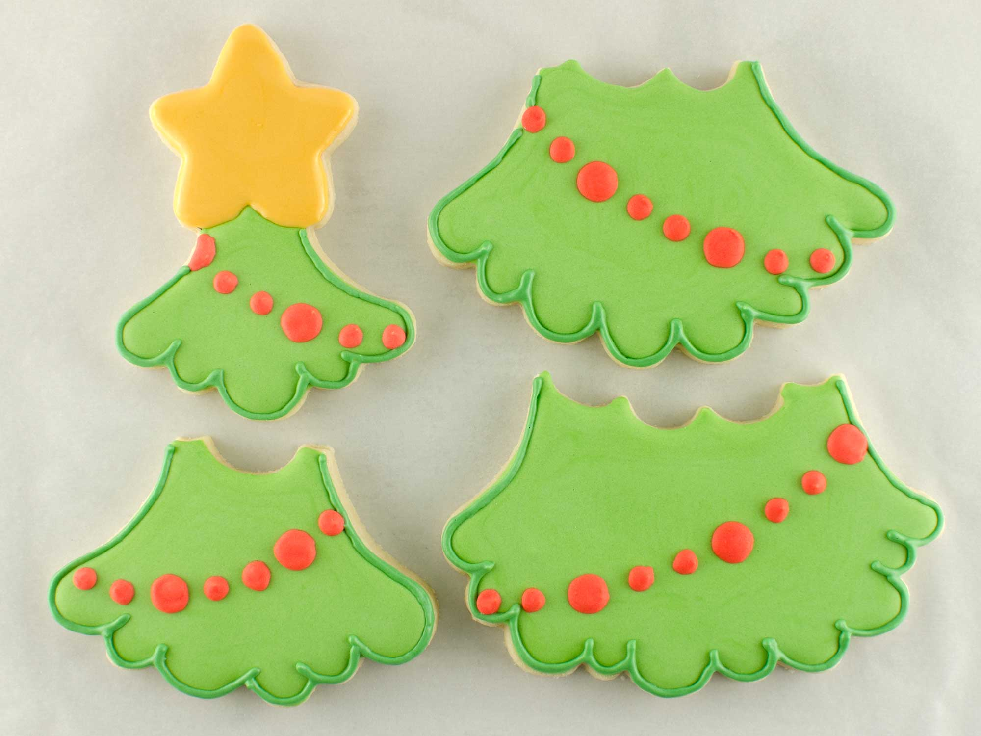 Christmas Tree Cookie Set step 3