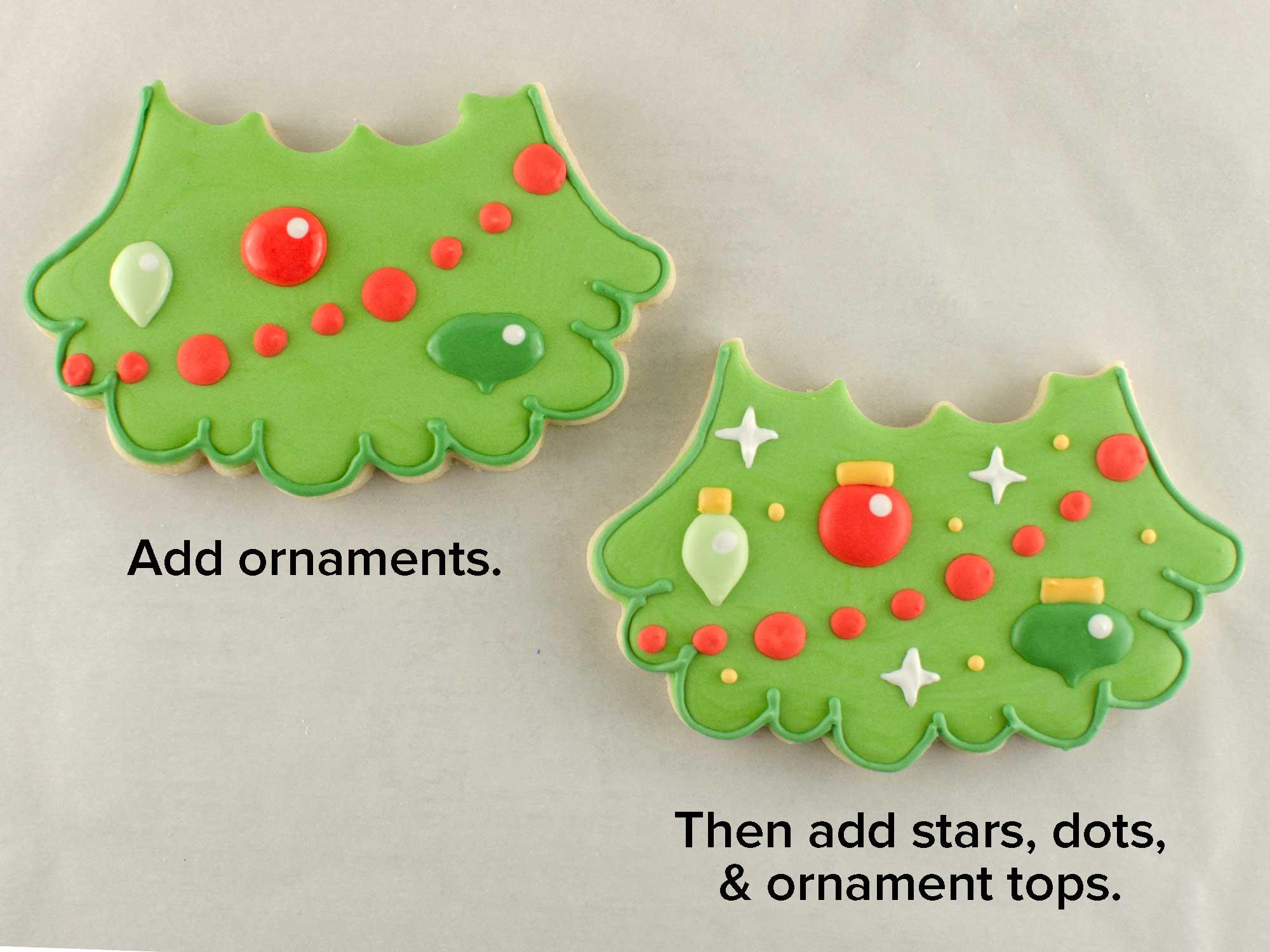 Christmas Tree Cookie Set step 4